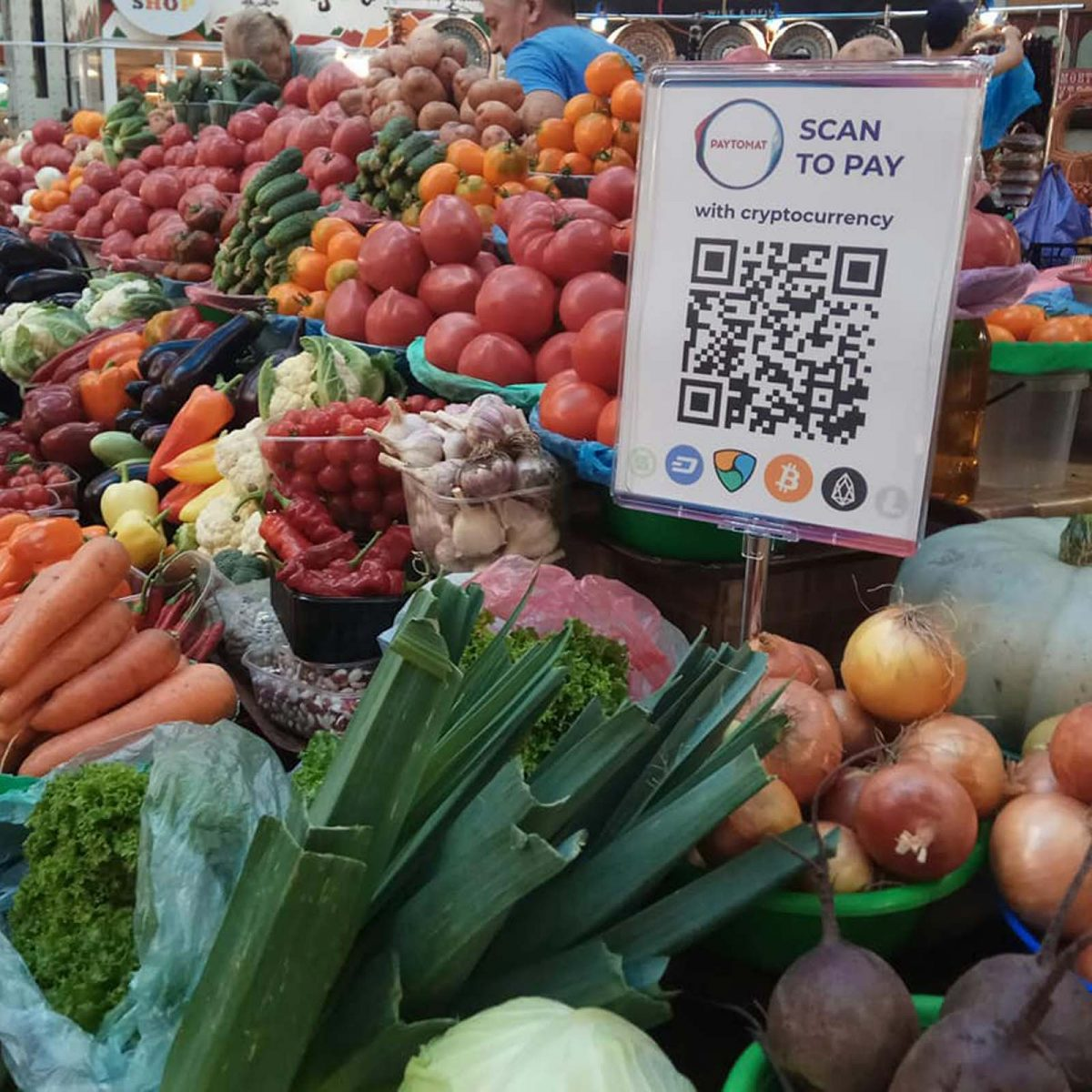 Kiev's Bessarabsky Market Accepts Cryptocurrencies for Groceries – Bitcoin News