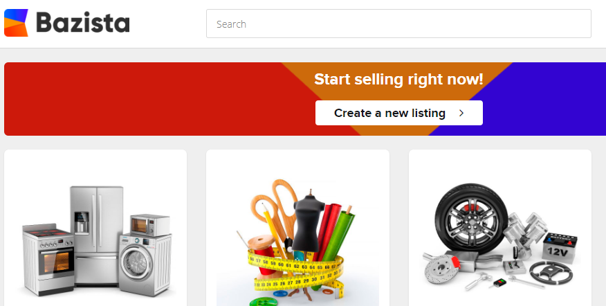 Bazista (BZS) launches MVP blockchain shopping site