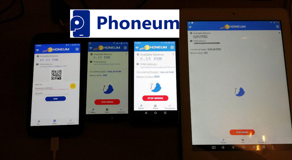 Mobile Mining is SO COOL. – Ivan Likov of Phoneum.io